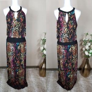 London Times Maxi Dress   Size 12